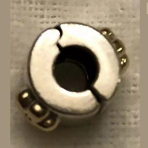 Pandora Jewelry - PANDORA Buttercup Flower Clip Charm 14K/925 Retd